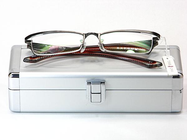 送料無料・純粋国産【THE 291】度付きレンズ付メガネセット【R306-1-C3】