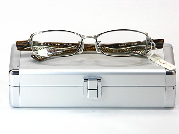 送料無料・純粋国産【THE 291】度付きレンズ付メガネセット【R306-3-C2】