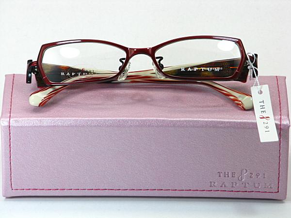 送料無料・純粋国産【THE 291】度付きレンズ付メガネセット【R407-1-C1】