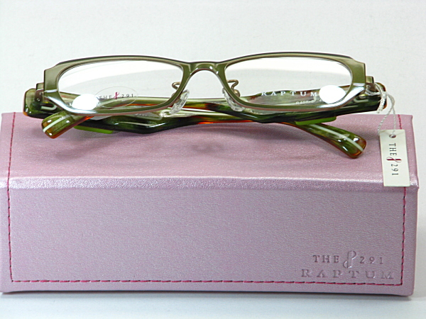 送料無料・純粋国産【THE 291】度付きレンズ付メガネセット【R407-2-C2】