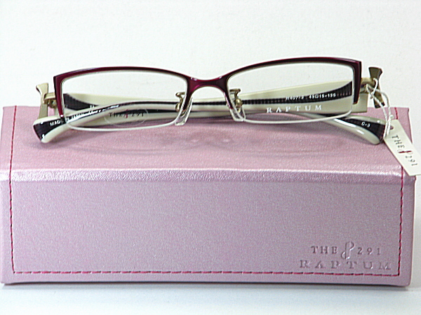 送料無料・純粋国産【THE 291】度付きレンズ付メガネセット【R407-3-C3】