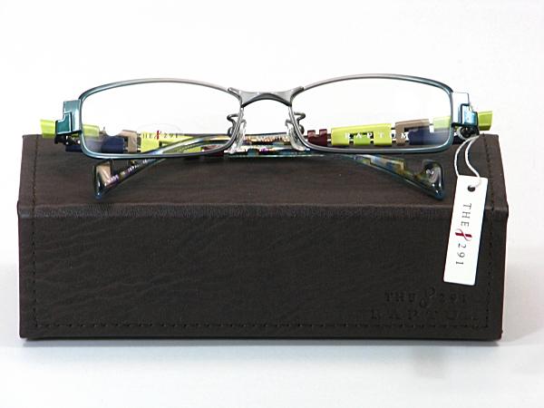 送料無料・純粋国産【THE 291】度付きレンズ付メガネセット【R408-1-C3】