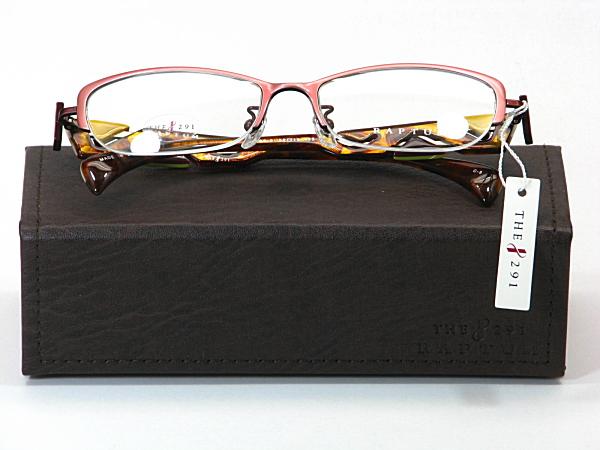 送料無料・純粋国産【THE 291】度付きレンズ付メガネセット【R408-2-C3】