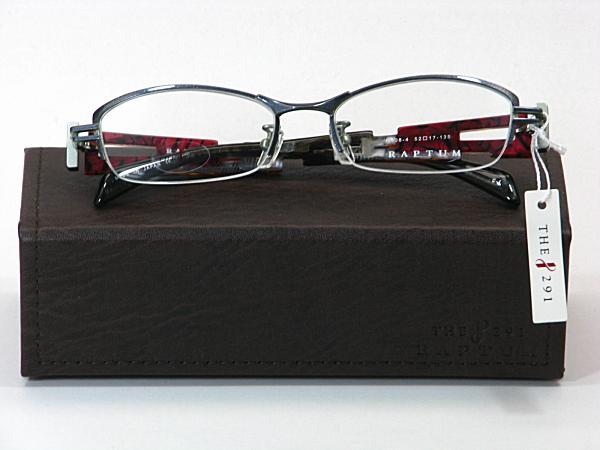 送料無料・純粋国産【THE 291】度付きレンズ付メガネセット【R408-4-C1】
