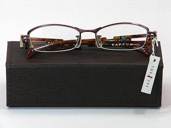 送料無料・純粋国産【THE 291】度付きレンズ付メガネセット【R408-4-C3】