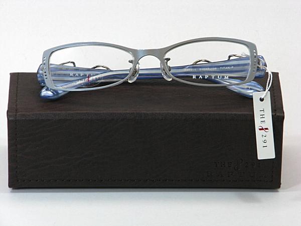 送料無料・純粋国産【THE 291】度付きレンズ付メガネセット【R509-1-C4】