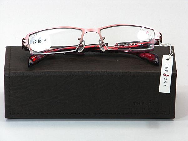 送料無料・純粋国産【THE 291】度付きレンズ付メガネセット【R509-3-C1】