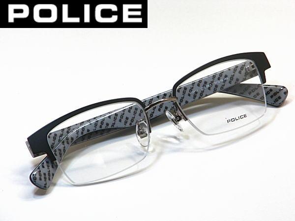 最新モデル・送料無料・ポリス【POLICE】度付きレンズ付【V8941J-BK3】ナイロール