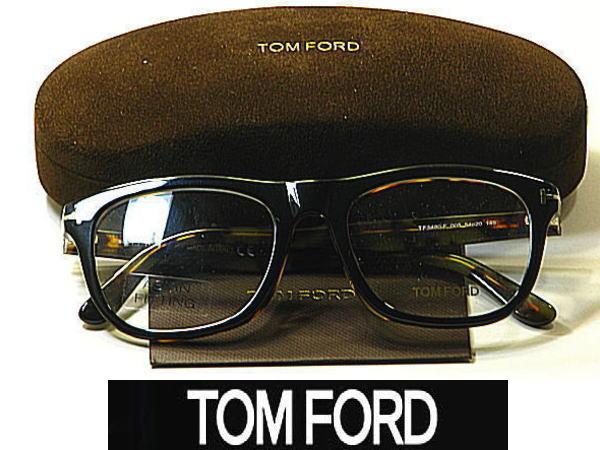 送料無料 ・トムフォード【TOM FORD】度付きレンズ付【TF-5480F-005】ユニセックス メンズ レディース・フルリム・セル枠・アジアタイプ