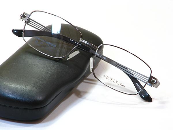 日本製メガネ【FT-126-C14-53】度付きレンズ付・送料無料