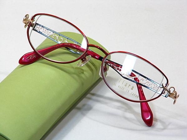 日本製メガネ【Tiara-101-C4】度付きレンズ付・送料無料