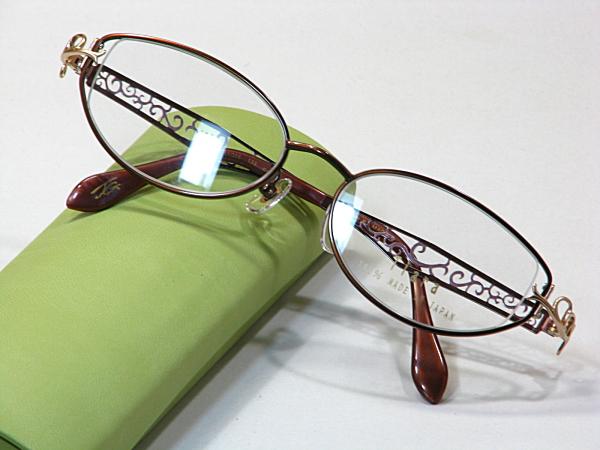 日本製メガネ【Tiara-102-C3】度付きレンズ付・送料無料