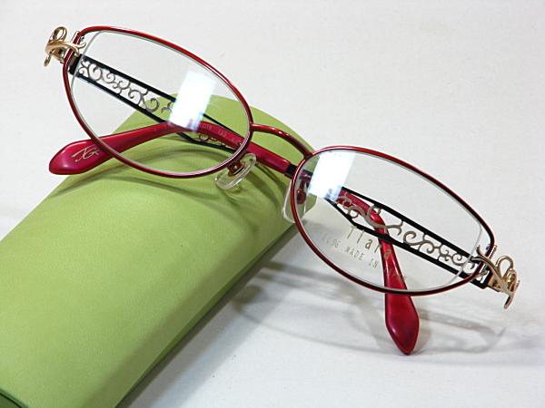 日本製メガネ【Tiara-102-C4】度付きレンズ付・送料無料
