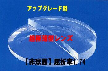 【アップグレード用レンズ】超極薄型レンズハードマルチコート付【非球面】1.74(2枚1組)