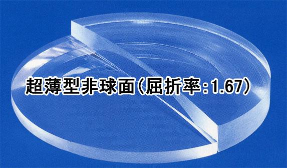 【通常版】超薄型非球面(1.67)