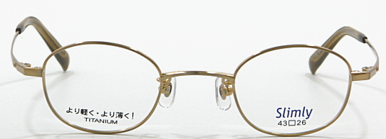 Glasses frame myopia for strength