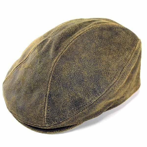 ELEHELM HAT STORE  New York Hat hunting men s leather New York Hat hunting Cap  men s antique leather hats leather leather products tea Brown Antique  Leather ... d09076cd53e