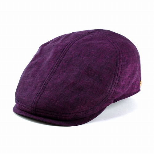 Hunting Hat mens new / borsalino hunting CAP and beautiful silhouette × deep bright / color borsalino linen 100% Purple Purple / Hat / mens hat (Cap and hat shop fashion fashionable gift)