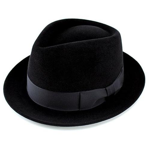 c0572786e5e Hats mens Hat luxury felt Hat rabbit fur turu Hat wool black cap body  ladies black ...