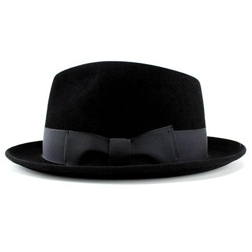 a2288d718cc ... Hats mens Hat luxury felt Hat rabbit fur turu Hat wool black cap body  ladies black ...