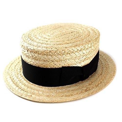カンカン帽 FUJI HAT ストローハット 帽子 フジハット 日本製 花麦 本格 メンズ(フジハット かんかん帽 おしゃれ 男性 ギフト 紳士帽子 40代 50代 60代 70代 ファッション ストロー 麦わら帽子 ハット プレゼント 通販 ファッション小物 父親 メンズハット ぼうし) 父の日