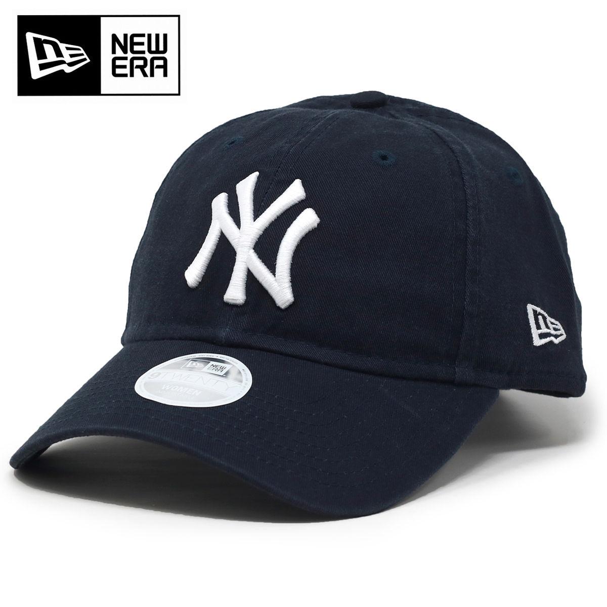 送料無料 メール便 ニューエラ レディース 帽子 ロゴキャップ NEWERA キャップ ニューヨークヤンキース MLB 商い ワンポイント フロントロゴ 9TWENTY New York 紺 WOMAN ダークネイビー バックアジャスターベルト Yankees 洗い加工 サイズ調整可 ニューエラ帽子 プレゼント cap 誕生日 小さいサイズ セットアップ baseball ギフト包装無料