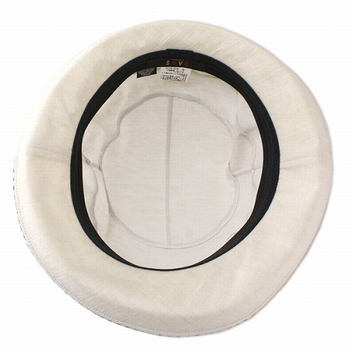 Mighty Ducks ladies Hat sample fabric Hat sailor hats London DAKS brand beige