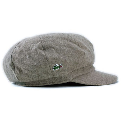 Hat new work wool casquette brand Lacoste men gap Dis LACOSTE beige Baker  boy hat gift present packing in the fall and winter 78d2a893ab7