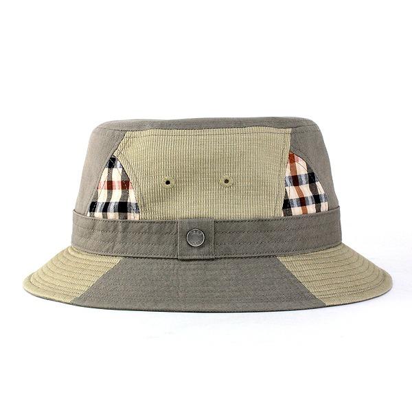 Daks daks / Hat outdoors / gentleman hat to go great / Mighty Ducks hats / patchwork casual / olive (the Safari Hat sahari Hat men's outdoor patchwork Hat mens gift)