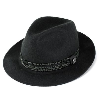 f389949c88b Hats men s hats felt hats luxury rabbit fur miser soft felt wide brim  (gentleman Hat ...