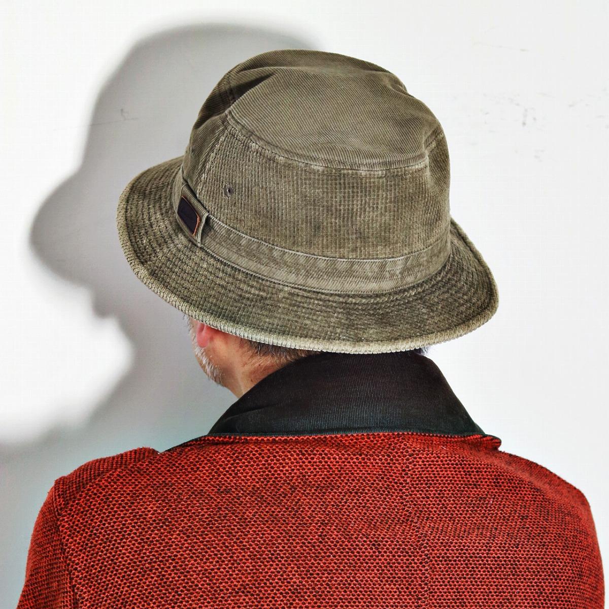 ... Cap Hat mens borsalino corduroy sahari Hat autumn winter corduroy   in  tea (Safari f4f3785da382