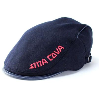 KNOX ハンチング 帽子 メンズ 日本製 後調節付 サーモトロン 遠赤外線 蓄熱 ハンチング帽 ノックス 秋 冬 紳士/黒 ブラック