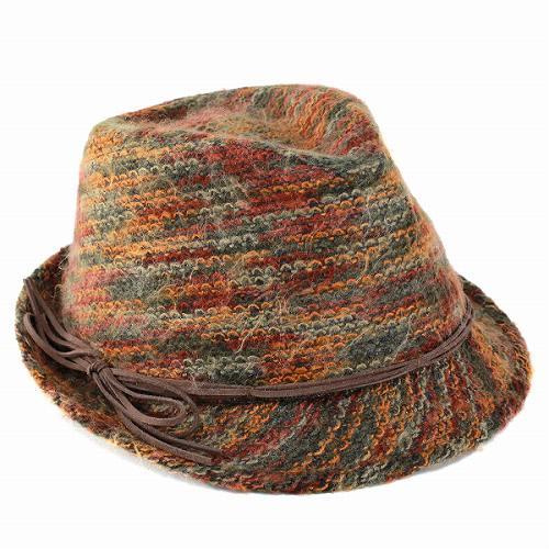 Turu Hat Carlos Santana CARLOS SANTANA hats FRENZY fluffy knit hat autumn/winter men's male women's women's unisex colorful present gift accessory casual autumn autum Brown