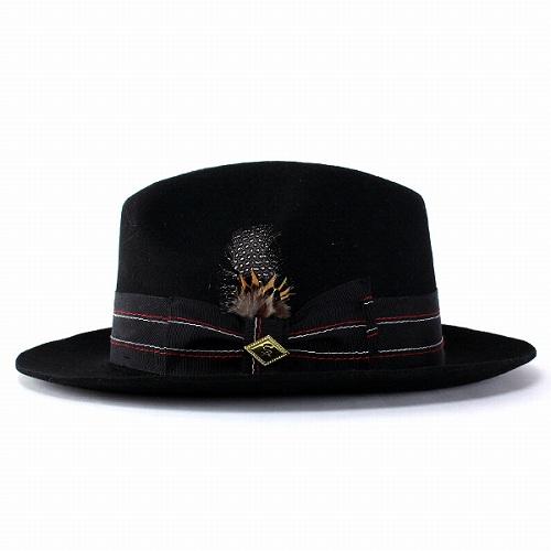 584d48baf40 Wide brim caps Hat felt autumn winter hats men s fashion headwear big brim  Stacy Adams black (wide brim winter for fall winter merchandise Hat CAP and  adult ...