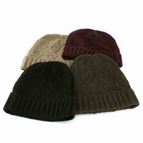 Knit hat men's women's NetWatch Hat Kamon knit knit simple wool mixed ladies ' wine (cute winter hat for winter products and knit CAP) (10P07Nov15)