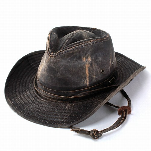 ELEHELM HAT STORE  In the Stetson STETSON Hat Hat cowboy Fedora Western   mens  men s autumn-winter Fedora damage processing presents casual tea Brown  (store ... 2fbcfb2416fe