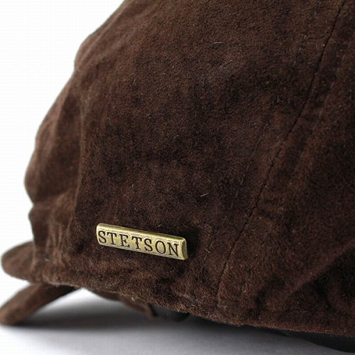 Hunting men s American Hat brand STETSON (Stetson) suede leather mens hats  for men small suede ivy cap-Brown Brown (Cap and hat shop fashion  fashionable ... c7ebf2e6b17