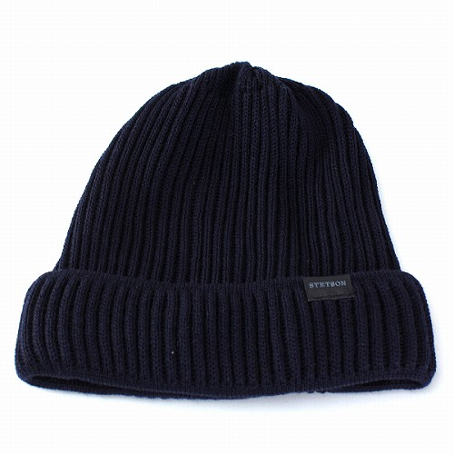 cacddbdda4f In the knit Cap Stetson STETSON knit wool knit Cap Hat Kamon   luxury fine  NetWatch ...