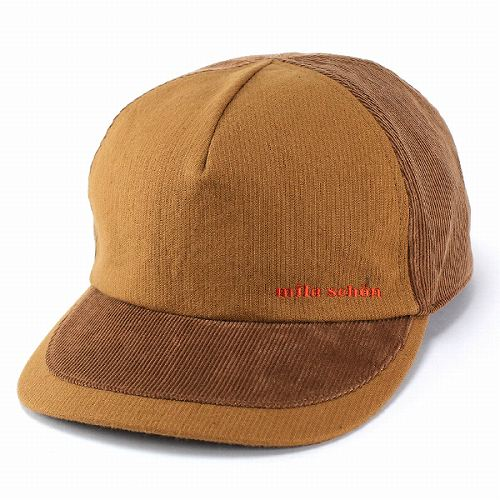 d0773d8e Work style and Brown cap corduroy two tone color and clunky (mens Cap Hat  men casual fashion accessory corduroy Cap gift hat store Rakuten) ...