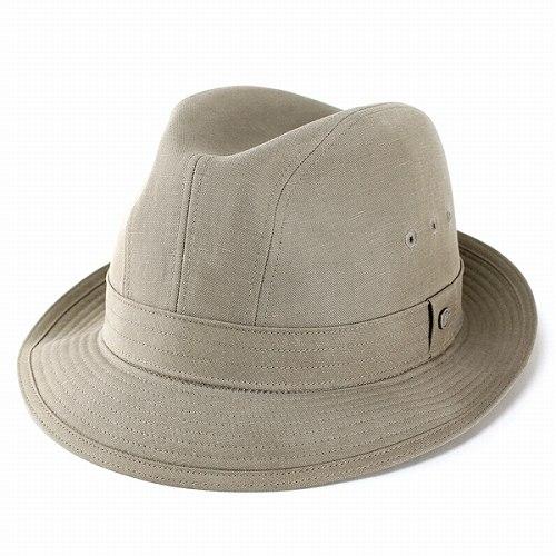 ボルサリーノ 中折れ ハット メンズ ライナー型 テンセル麻 紳士 春 夏 撥水加工 KEEPRESH 採用 ベージュ [ fedora ](おしゃれ 中折れ帽子 中折れ帽 中折れハット メンズハット 紳士帽子 メンズ帽子 40代 50代 60代 ファッション ブランド帽子 中央帽子)