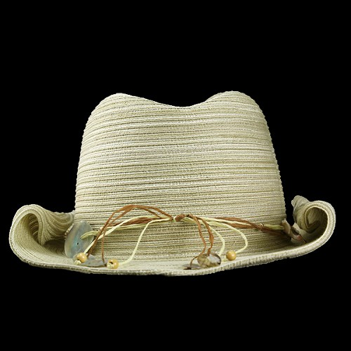 505af90469a Hat ladies SCALA scalar Fedora Hat cowboy spring summer shell with shell  natural generation women s cowboy accessory gift gifts Hat resort casual ...