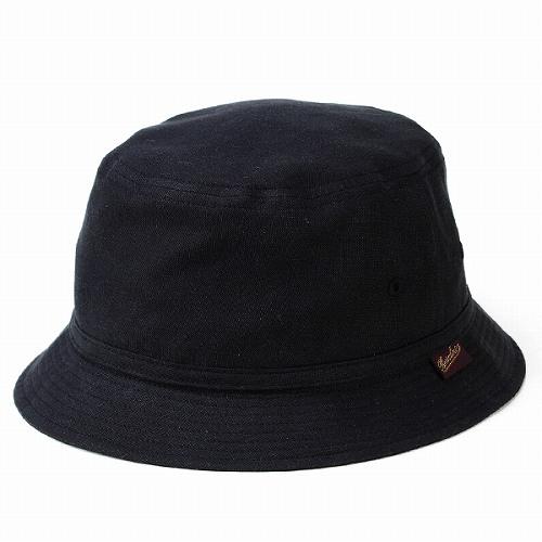 Bucket Hat outdoors TCM borsalino repellent water rain KEEPRESH  photographer Hat Hat mens BORSALINO Tencel linen   Black Black Hat (hat-shop  photographers) 288e4ab929b