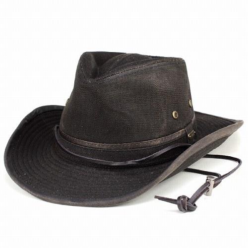 Cowboy hat canvas fabric cotton Stetson outdoor Hat mens STETSON Western  hats all-season black fbbe2129212