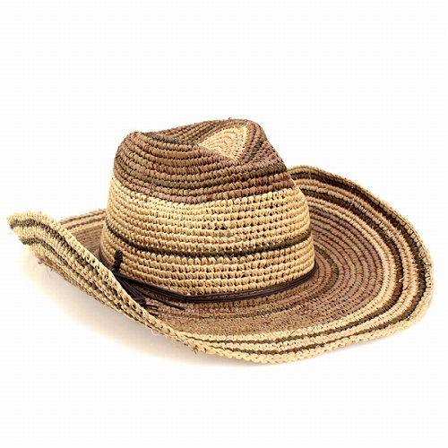 552fe74dfa295 ELEHELM HAT STORE  Men s cowboy hat Hat Hat UV raffia post double ...