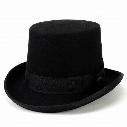 f3ef1ac94 Top hat hats men's SCALA women's wool felt Hat top hat / gentleman scalar  formal dress suit /TOPPER / black (10P07Nov15)