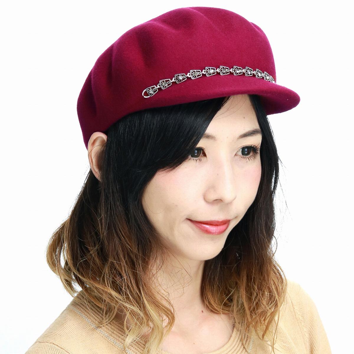 Casquette hat hat GALLIANO SORBATTI cap Mrs. hat refined woman hat   wine   newsboy ... 2d6f2d538990