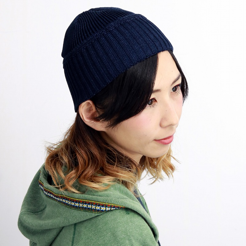 c565beed5cf ELEHELM HAT STORE    dark blue navy  beanie cap  man hat present Christmas  gift in the fall and winter stylish ニットワッチ aguru in the adjustable size ...