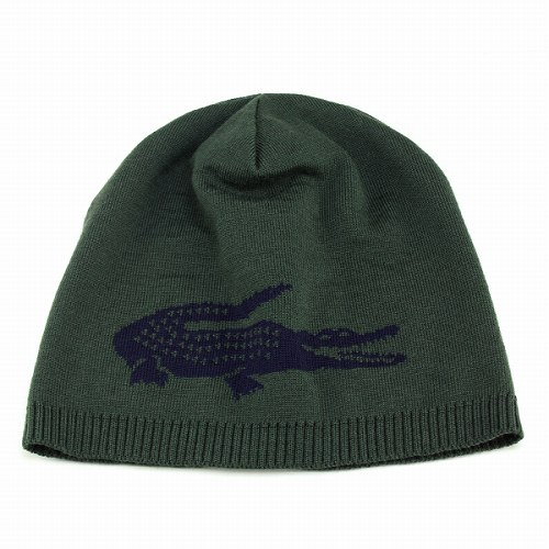 f7a25f6cb1 Beanie mens Lacoste knit Cap Hat ladies reversible knit winter sport wool  winter / green x-Japan Navy LACOSTE knit CAP and
