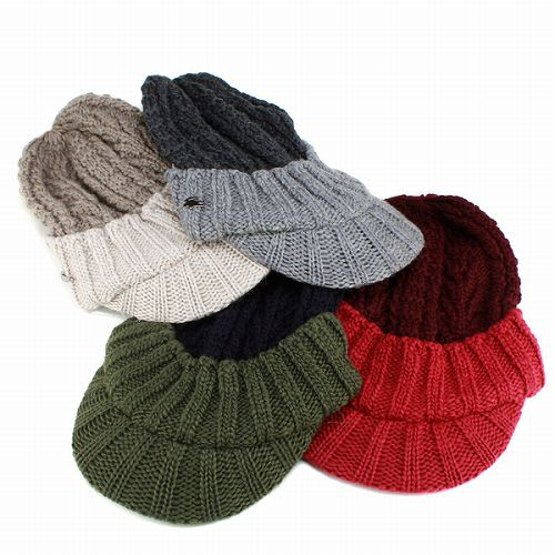 Knit Cap fall Womens mens flanged low Lacoste   fashion casual winter sport    Hat   charcoal grey Japan wool LACOSTE knit CAP and 4abee1e7ed2a