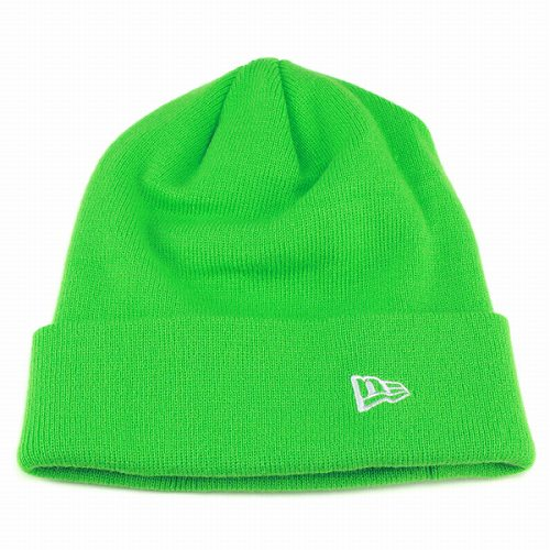 57b881e413a99 ELEHELM HAT STORE  Knit Cap men Hat Kamon era newera autumn winter simple  multi-color women s combined  BasicCuffKnit   bright green green Regal Al knit  Cap ...